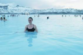 me, at the blue lagoon